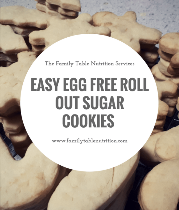 egg free vegan roll out sugar cookies