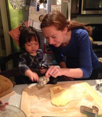 cookies toddler kitchen