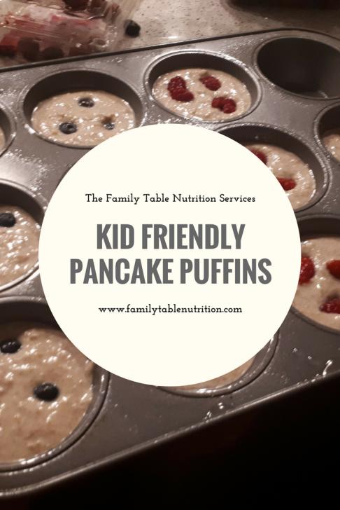 pancake muffins kid friendly recipe toddler breakfast