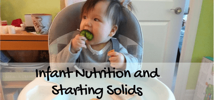Infant Nutrition and Starting Solids
